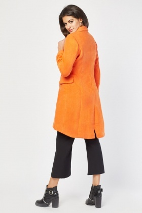 Single Breasted Midi Coat