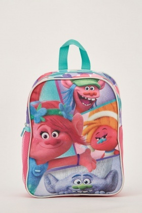 Trolls Theme Backpack
