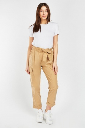 Flap Pocket Side Utility Trousers