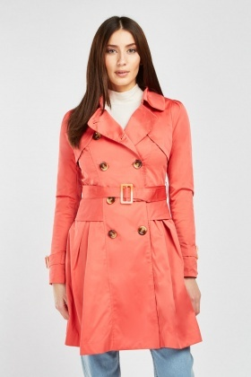 Frock Style Trench Coat
