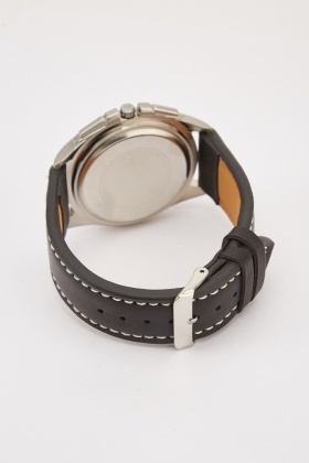 Heptagon Shape Watch