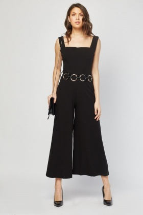 Square Neck Palazzo Style Jumpsuit