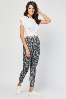 Printed Basic Leggings