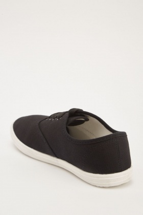 Lace Up Mens Plimsolls