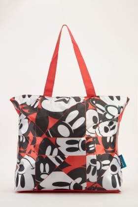 Mickey Mouse Printed Bag