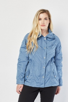 Zip Up Rain Jacket