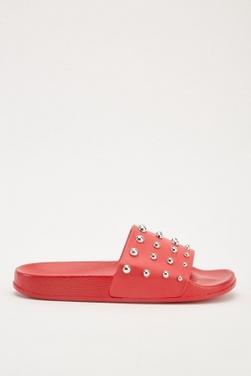 Studded Sliders
