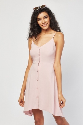 fef0e63ca4b14 Asymmetric Hem Cami Dress