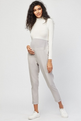 Stripe Side Maternity Trousers