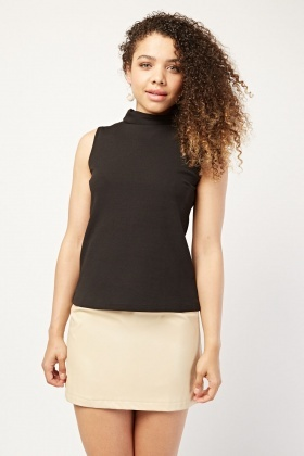 Roll Neck Shell Top