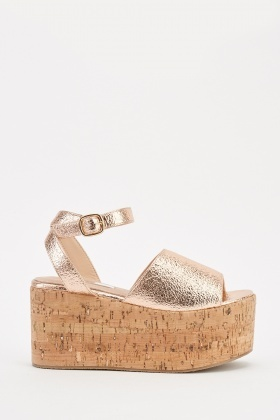 dce4524be Cork Platform Heel Sandals