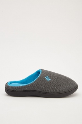 Mens Two Tone Slippers