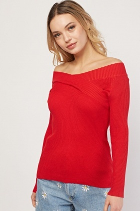 Ling Sleeve Ribbed Top