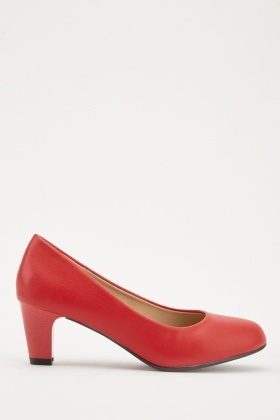 Low Heel Pump Shoes