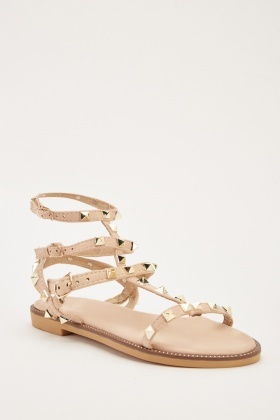 530887b80 Studded Strappy Sandals