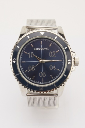 Mens Stainless Steel Strap Watch