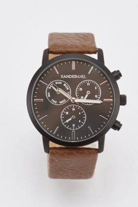 Mens Multi-Dial Watch