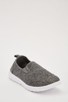Speckled Slip On Trainers