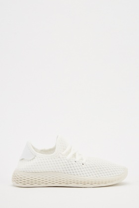 Honey Comb Overlay Trainers