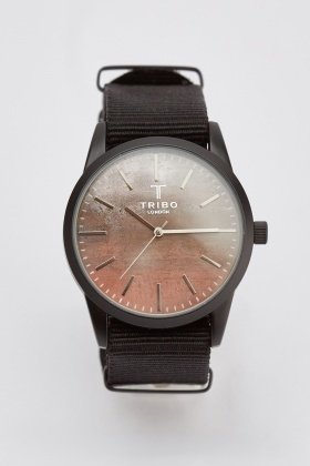 Textured Mens Watch