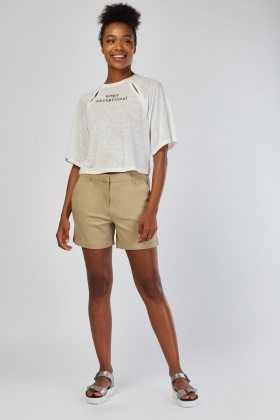 Casual Safari Shorts
