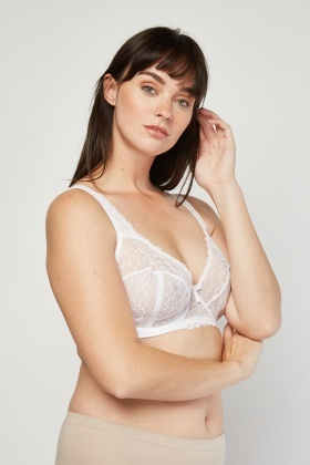 Full Cup Lace Bra