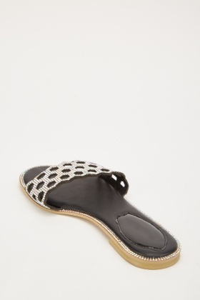 Encrusted Laser Cut Slides