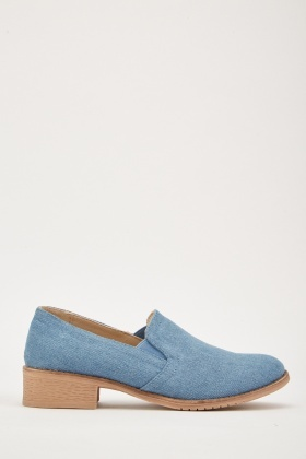 Casual Denim Loafers