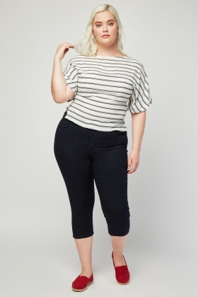 Super Skinny Regular Capri Jeans