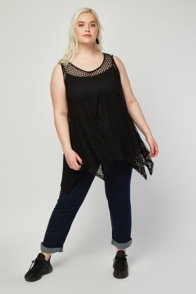 Laser Cut Asymmetric Swing Top