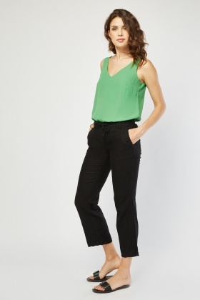 Tie Up Light Weight Trousers