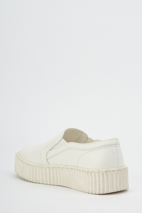 Chunky Slip On Shoes