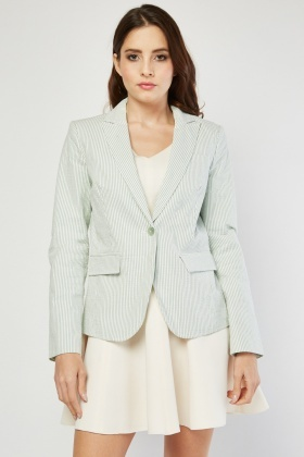 Women's Clothing Have & Have Womens Dark Gray Casual Blazer Jacket Size Large Suits & Suit Separates