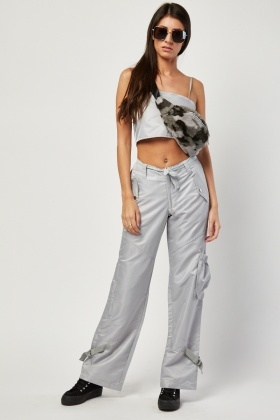 Bralet And Cargo Trousers Set