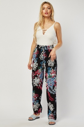 Light Weight Printed Trousers