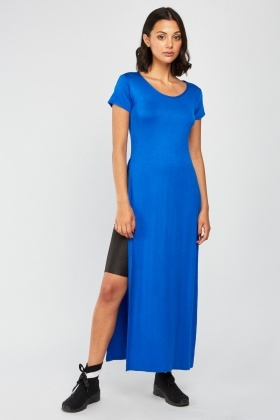 Double Slit Side Maxi Top