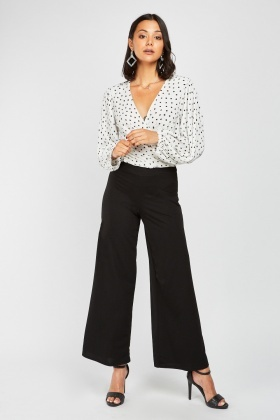Wide Leg High Waisted Trousers £5.00