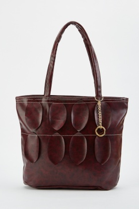 Leaf Pattern Handbag