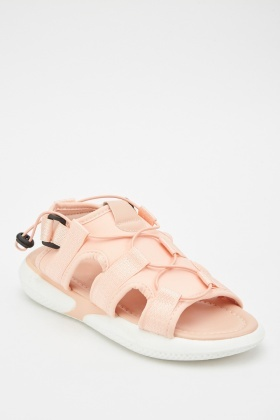 Two Tone Sport Style Sandals