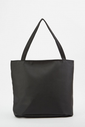 Buckle Strap Tote Bag