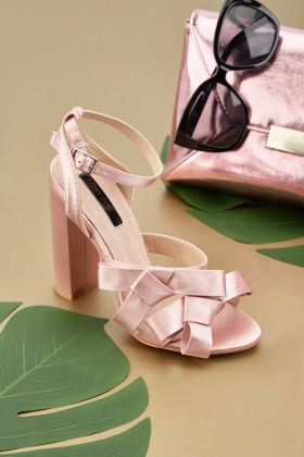Lost Ink Leah Double Bow Sandals