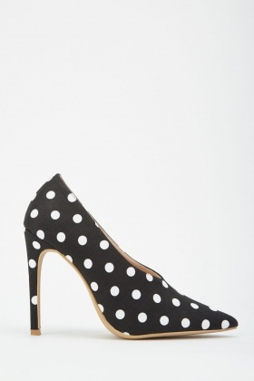 LOST INK Cady High Vamp Court Shoe