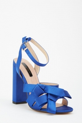 LOST INK Leah Double Bow Sandal