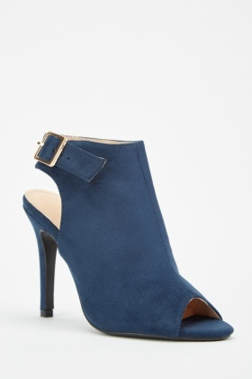 new authentic free delivery up-to-datestyling Suedette Open Toe Ankle Boots