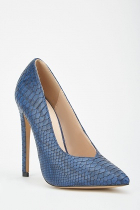 LOST INK Chase High Vamp Court Shoe