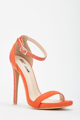 LOST INK Rae Stiletto Barley There Heeled Sandal