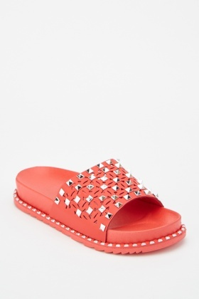 Studded Laser Cut Sliders