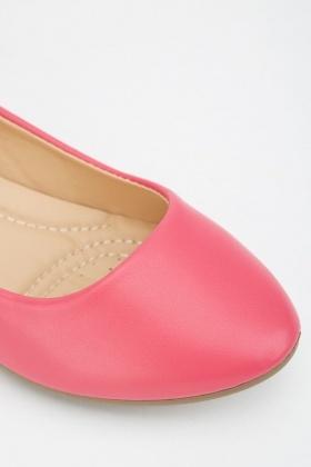 0df172507d5 Fuchsia Ballerina Pumps
