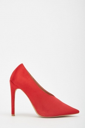 LOST INK Tate High Vamp Basic Court Heels