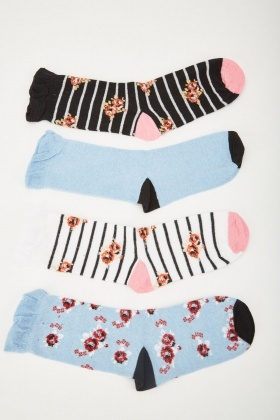 12 Pairs Of Womens Socks